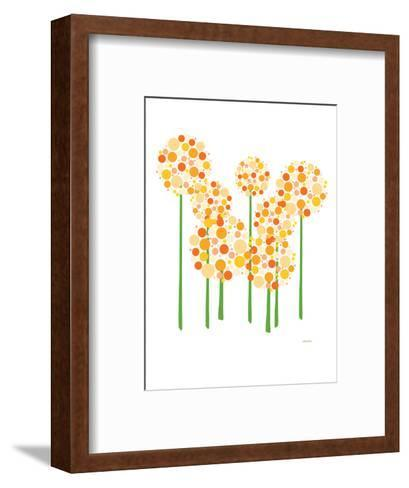 Orange Alliums-Avalisa-Framed Art Print