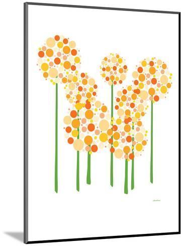Orange Alliums-Avalisa-Mounted Art Print