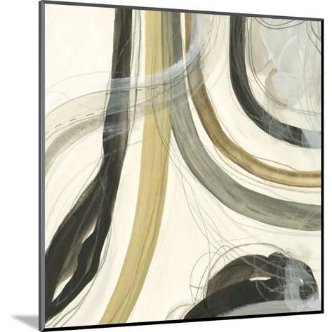 Neutral Lines II-June Vess-Mounted Art Print