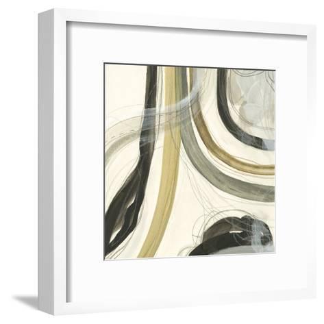 Neutral Lines II-June Vess-Framed Art Print