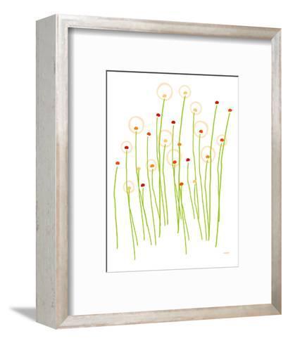 Orange Dandelion-Avalisa-Framed Art Print