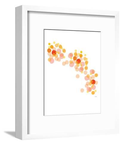 Orange Float-Avalisa-Framed Art Print