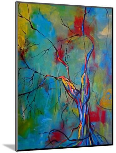 Tree Of Winding Color-Ruth Palmer-Mounted Art Print