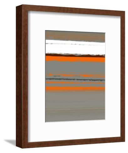 Abstract Orange 2-NaxArt-Framed Art Print