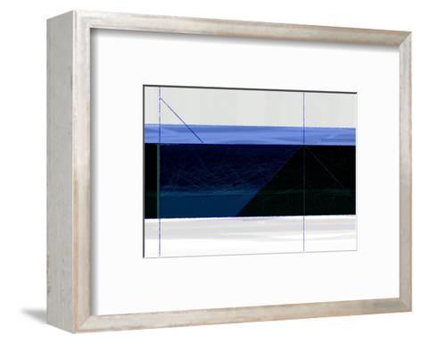 Deep Blue-NaxArt-Framed Art Print