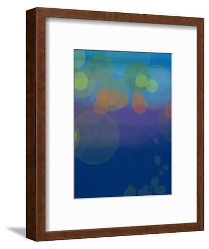 Night Lights 2-Jan Weiss-Framed Art Print
