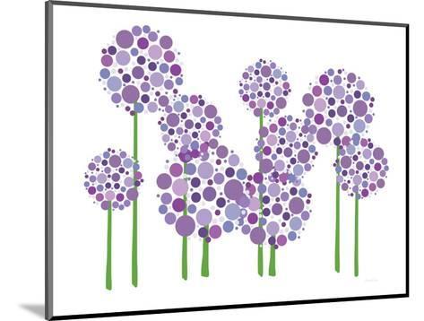 Purple Allium-Avalisa-Mounted Art Print