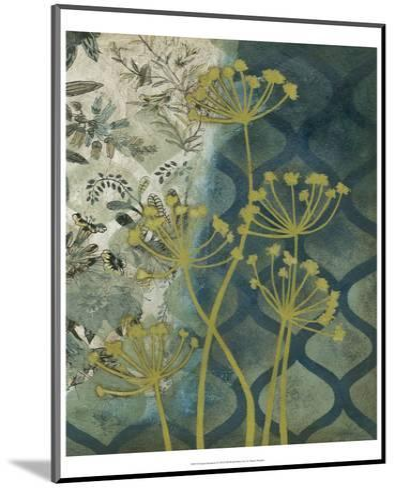 Peridot Botanical I-Megan Meagher-Mounted Art Print