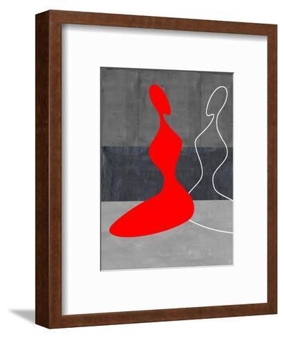 Red Grill-NaxArt-Framed Art Print