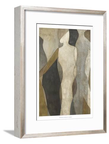 Figure Overlay I-Megan Meagher-Framed Art Print