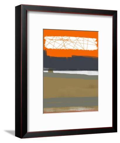 Abstract Orange 1-NaxArt-Framed Art Print