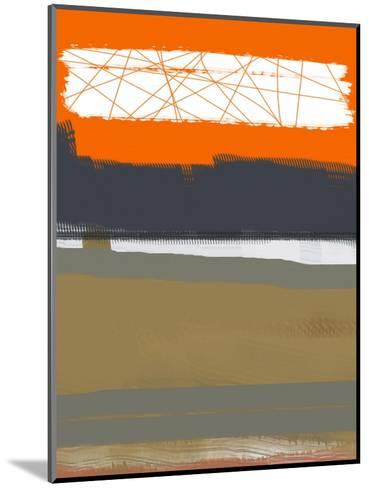 Abstract Orange 1-NaxArt-Mounted Art Print
