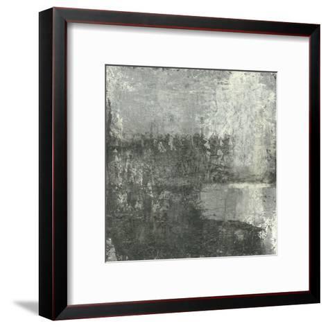 Gray Abstract III-Elena Ray-Framed Art Print