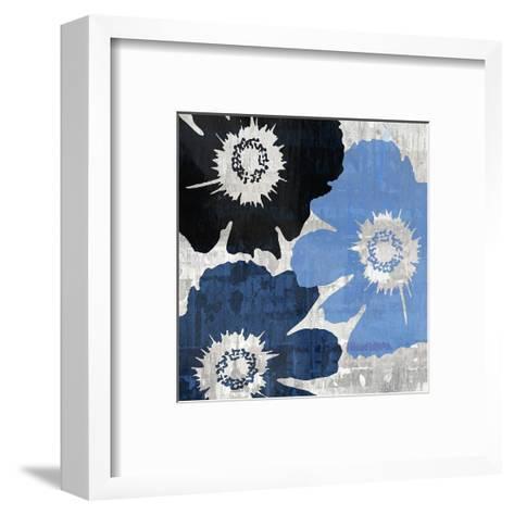 Bloomer Squares XIII-James Burghardt-Framed Art Print