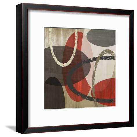 Elastic Red II-Michael Marcon-Framed Art Print