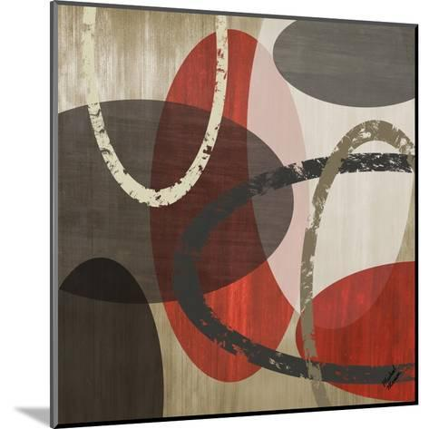 Elastic Red II-Michael Marcon-Mounted Art Print