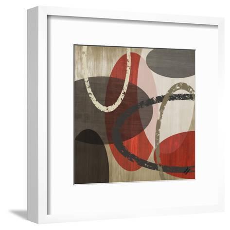 Elastic Red II-Michael Marcon-Framed Art Print