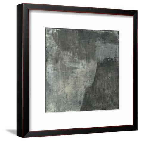 Gray Abstract I-Elena Ray-Framed Art Print