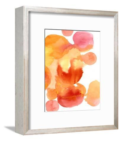 Fire Water II-Deborah Velasquez-Framed Art Print