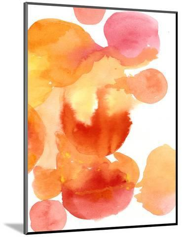 Fire Water II-Deborah Velasquez-Mounted Art Print