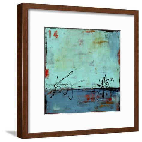 Blue Bay Marina II-Erin Ashley-Framed Art Print