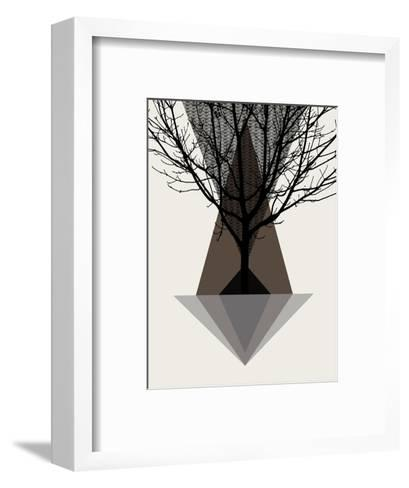 Startree Brown--Framed Art Print