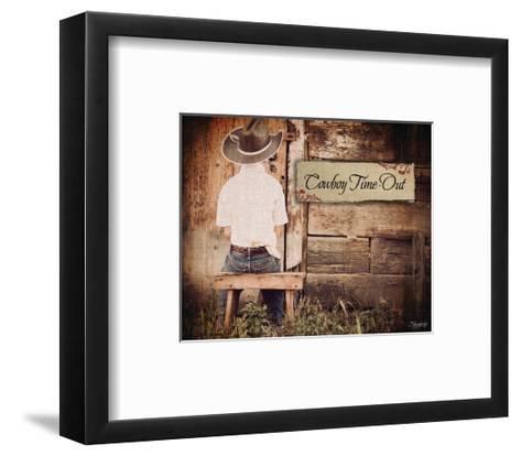 Cowboy Time Out-Shawnda Craig-Framed Art Print