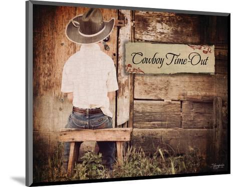 Cowboy Time Out-Shawnda Craig-Mounted Art Print
