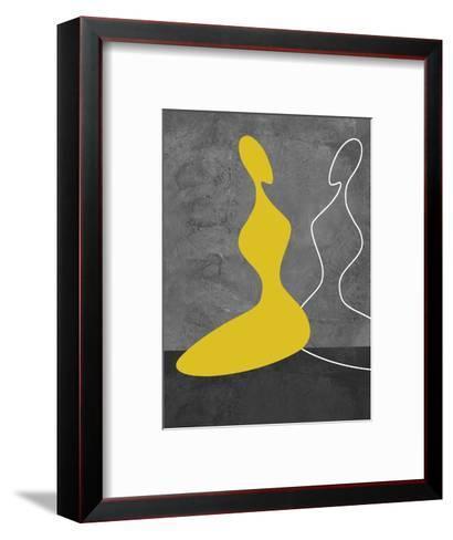 Yellow Girl-Felix Podgurski-Framed Art Print