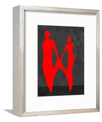 Red Couple 2-Felix Podgurski-Framed Art Print