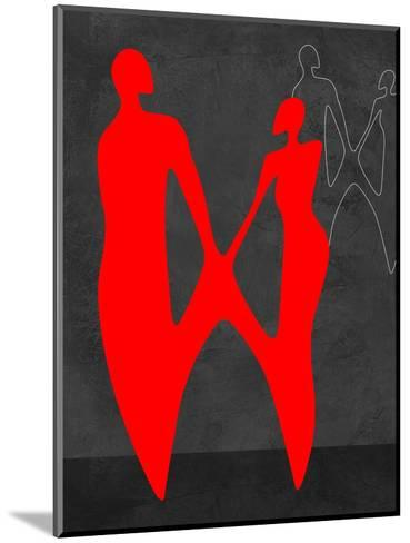 Red Couple 2-Felix Podgurski-Mounted Art Print