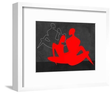 Red Couple 3-Felix Podgurski-Framed Art Print