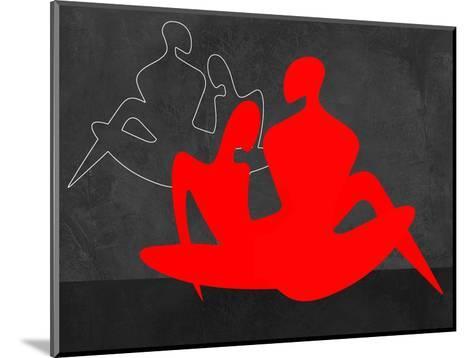 Red Couple 3-Felix Podgurski-Mounted Art Print
