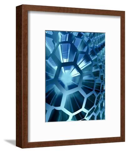 Technology Background-Chepko Danil Vitalevich-Framed Art Print