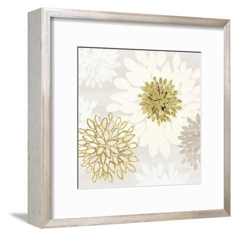 Gilded Aesthetic Bloom-Bella Dos Santos-Framed Art Print