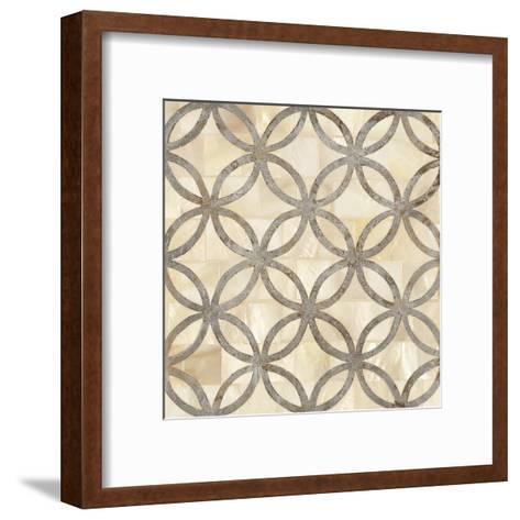 Natural Moroccan Tile 4-Hope Smith-Framed Art Print