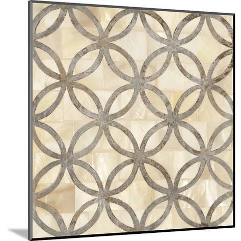 Natural Moroccan Tile 4-Hope Smith-Mounted Art Print