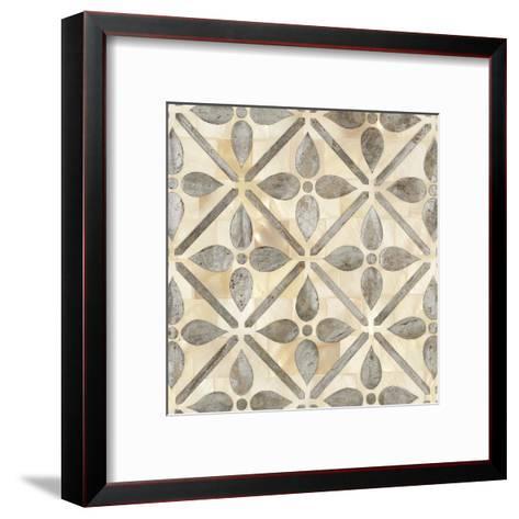 Natural Moroccan Tile 1-Hope Smith-Framed Art Print