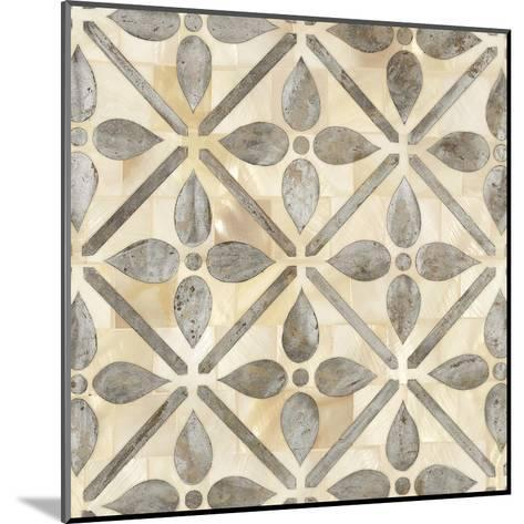 Natural Moroccan Tile 1-Hope Smith-Mounted Art Print