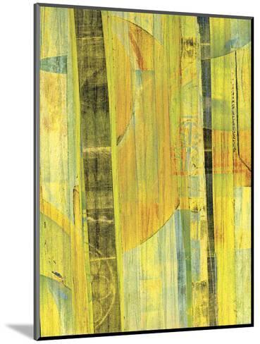 Yellow Mix II-Ricki Mountain-Mounted Art Print