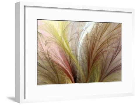 Fountain Grass II-James Burghardt-Framed Art Print