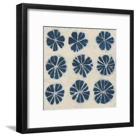 Indigo Signals IX-June Erica Vess-Framed Art Print