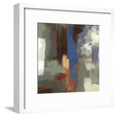 Blue Abstract-Sloane Addison ?-Framed Art Print