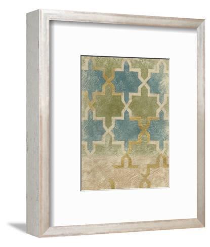 Non-Embellished Exotic Tile III-Chariklia Zarris-Framed Art Print