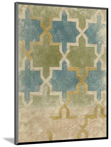 Non-Embellished Exotic Tile III-Chariklia Zarris-Mounted Art Print