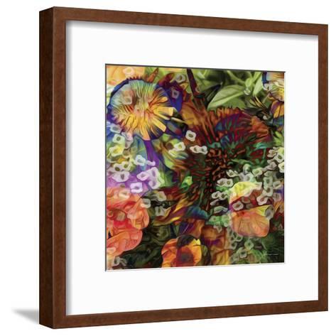 Embellished Eden Tile I-James Burghardt-Framed Art Print