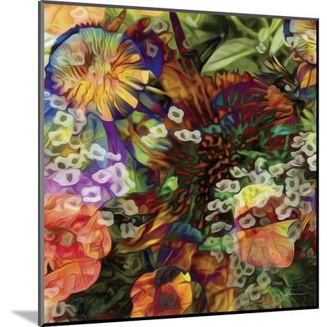 Embellished Eden Tile I-James Burghardt-Mounted Art Print
