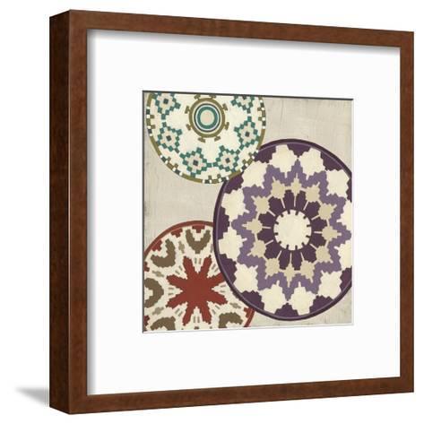 Basket Motif IV-June Erica Vess-Framed Art Print