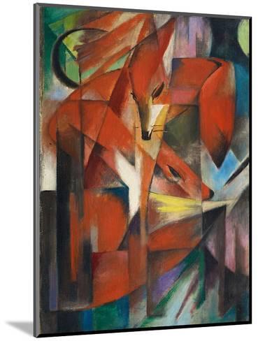 The Fox, c.1913-Franz Marc-Mounted Art Print