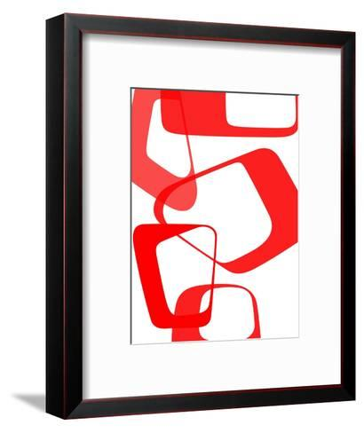 Abstract Rings 3-NaxArt-Framed Art Print